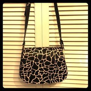 Leather Cowhide crossbody purse